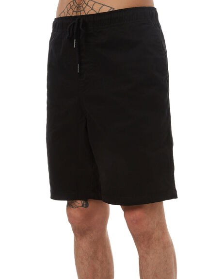 BLACK MENS CLOTHING SWELL SHORTS - S5174252BLK
