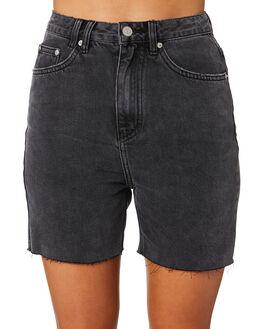 WORN BLACK WOMENS CLOTHING INSIGHT SHORTS - 1000084440WRNBK