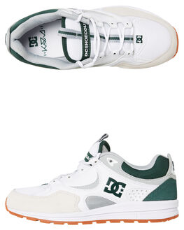 WHITE GREY MENS FOOTWEAR DC SHOES SNEAKERS - ADYS100291XWSG