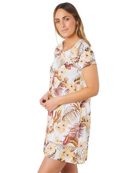WHITE WOMENS CLOTHING RIP CURL DRESSES - GDRDF91000