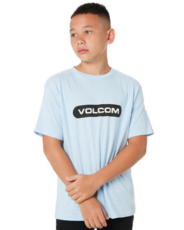 POWDER BLUE KIDS BOYS VOLCOM TOPS - C3512001PDR