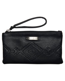 BLACK WOMENS ACCESSORIES RIP CURL PURSES + WALLETS - LWUFR10090