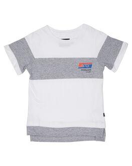 WHITE KIDS BOYS ST GOLIATH TOPS - 2820008WHT