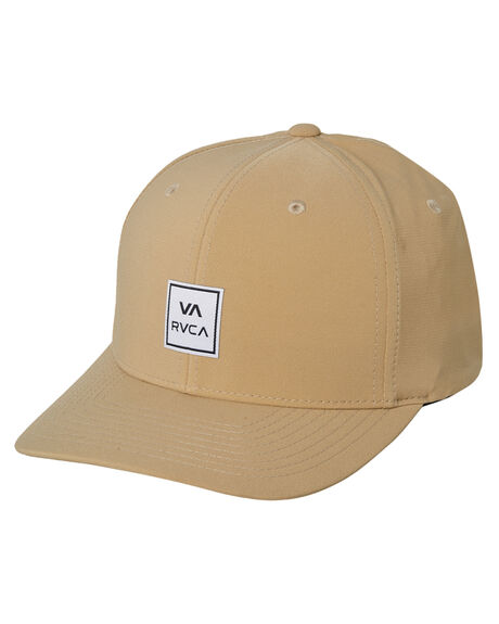 KHAKI MENS ACCESSORIES RVCA HEADWEAR - R382569CKHA