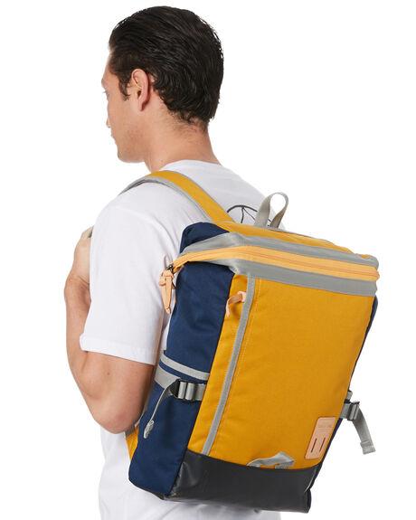 MUSTARD MENS ACCESSORIES HARVEST LABEL BAGS + BACKPACKS - HLO-0531-MUS