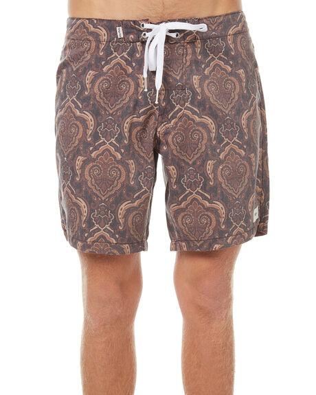 COFFEE MENS CLOTHING RHYTHM BOARDSHORTS - OCT17M-TR08-COF