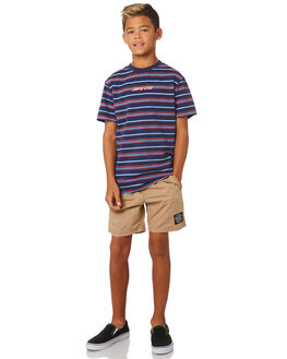 TAN KIDS BOYS SANTA CRUZ SHORTS - SC-YBNC262SND