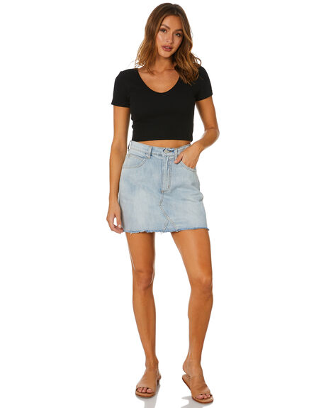 BLUE ICE WOMENS CLOTHING RIP CURL SKIRTS - GSKEG15294