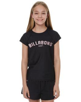 BLACK SURF RASHVESTS BILLABONG GIRLS - 5771001BLK