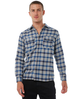 DARK GREY OUTLET MENS HURLEY SHIRTS - AJ1846063
