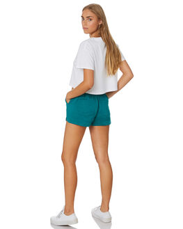 OCEAN GREEN WOMENS CLOTHING ALL ABOUT EVE SHORTS - 6443068OCNG