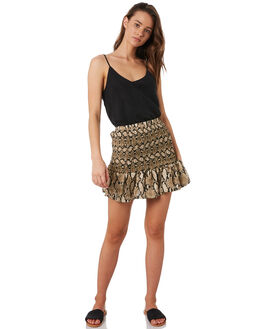SNAKE PRINT WOMENS CLOTHING ALL ABOUT EVE SKIRTS - 6446141SNK
