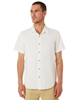 CHALK MENS CLOTHING MCTAVISH SHIRTS - MS-19SH-01CHALK