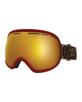 RED BOARDSPORTS SNOW VONZIPPER GOGGLES - VZ-GMFFISJJJ-RED