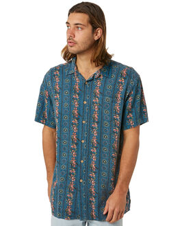 BLUE YONDER MENS CLOTHING THE CRITICAL SLIDE SOCIETY SHIRTS - SS1831BLUYO