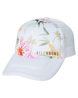WHITE WOMENS ACCESSORIES BILLABONG HEADWEAR - 6682310WHT