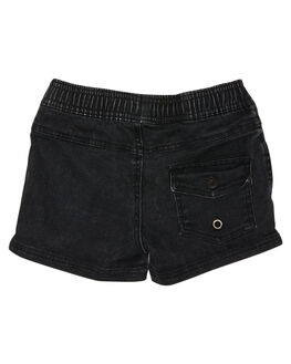 BLACK KIDS BOYS ST GOLIATH SHORTS - 2821019BLK