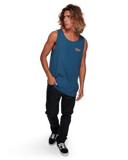 DARK BLUE MENS CLOTHING BILLABONG SINGLETS - BB-9591502-B69