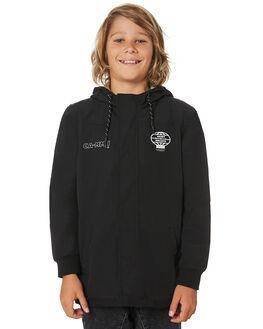 BLACK KIDS BOYS ST GOLIATH JUMPERS + JACKETS - 2432034BLK