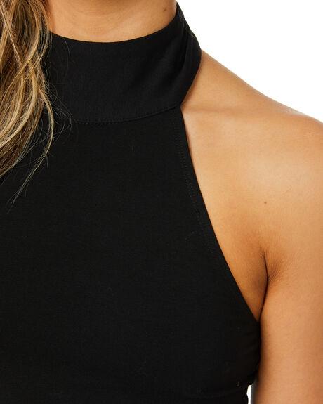 BLACK WOMENS CLOTHING JAGGER AND STONE DRESSES - JSJ007-1BLK
