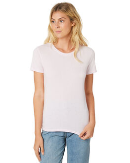 WASHED LAVENDER WOMENS CLOTHING THE HIDDEN WAY TEES - H8182001WSHLV