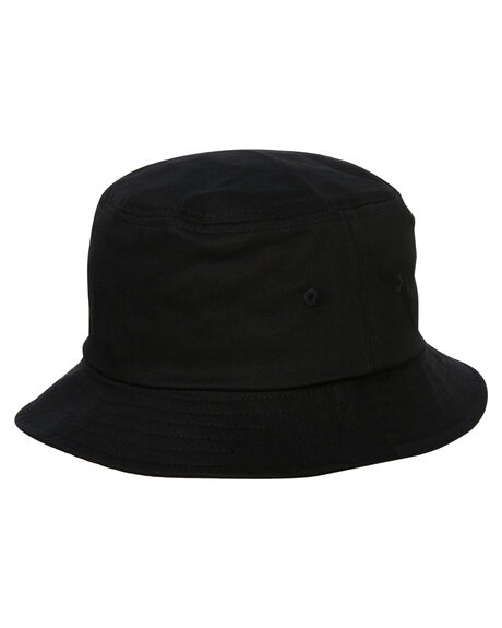 BLACK MENS ACCESSORIES OBEY HEADWEAR - 100520015BLK