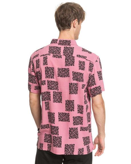 HEATHER ROSE ANIMAL MENS CLOTHING QUIKSILVER SHIRTS - EQYWT03955-MLC6