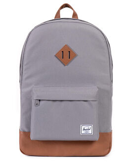 GREY MENS ACCESSORIES HERSCHEL SUPPLY CO BAGS + BACKPACKS - 10007-00061-OSGRY