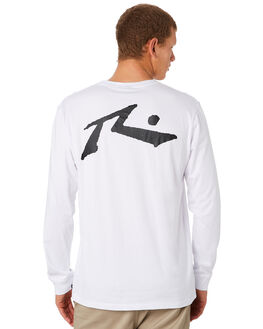 WHITE MENS CLOTHING RUSTY TEES - TTM1642WHT