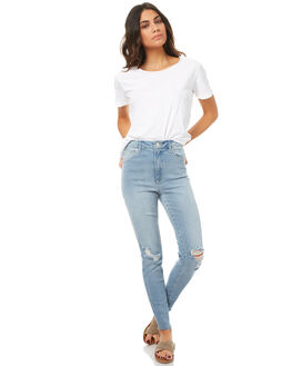 TORN WOMENS CLOTHING A.BRAND JEANS - 70920A-3085