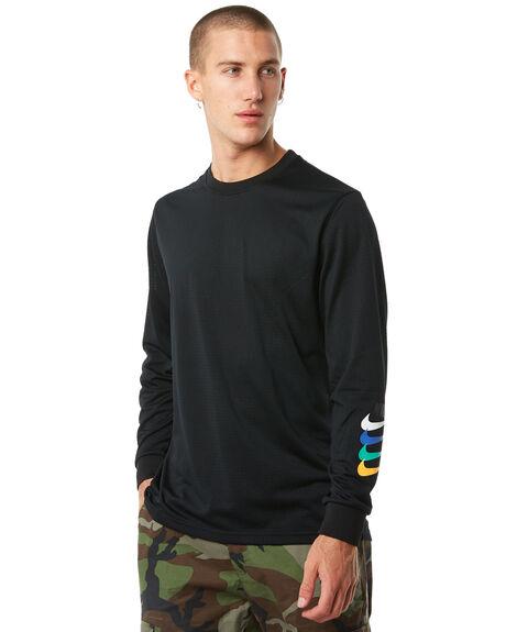 BLACK MENS CLOTHING NIKE TEES - 886100010