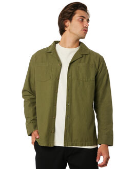 OLIVE MENS CLOTHING RHYTHM SHIRTS - JUL19M-WT09-OLI
