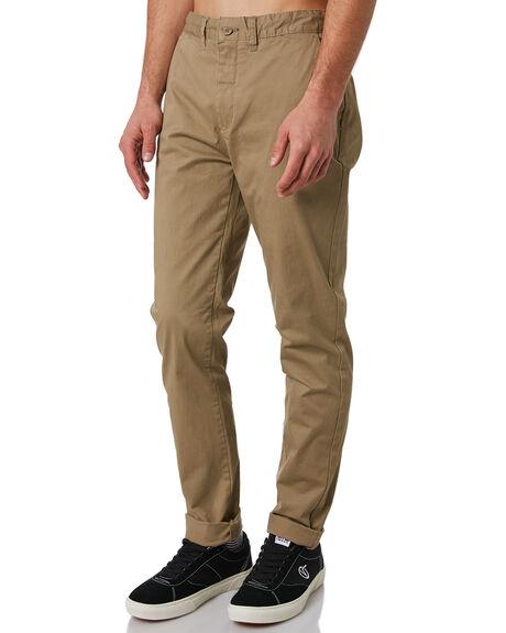 STONE MENS CLOTHING GLOBE PANTS - GB01216010STN