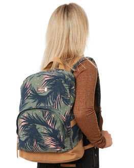 ARMY GREEN WOMENS ACCESSORIES VOLCOM BAGS + BACKPACKS - E6531881ARC
