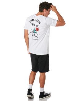 WHITE MENS CLOTHING SANTA CRUZ TEES - SC-MTC9253WHT