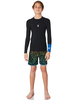 BLACK BLUE BOARDSPORTS SURF FAR KING BOYS - 2161123BLKBL