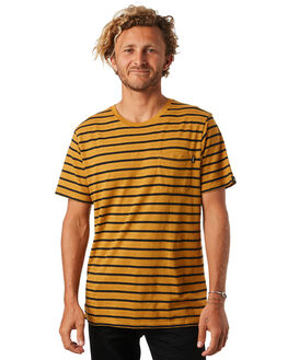 MUSTARD MENS CLOTHING AFENDS TEES - M183019MSTRD