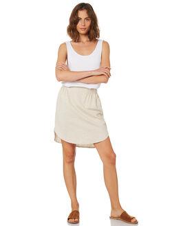 NATURAL WOMENS CLOTHING BETTY BASICS SKIRTS - BB811HS18NATUR