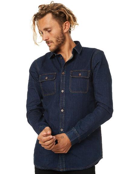DARK VINTAGE MENS CLOTHING DR DENIM SHIRTS - 1631146DVINT