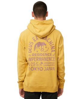 GOLDEN MENS CLOTHING DEUS EX MACHINA JUMPERS - DMP88152BGOLD