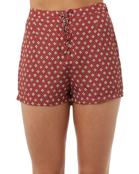 OLD ROSE WOMENS CLOTHING TIGERLILY SHORTS - T385301ROSE