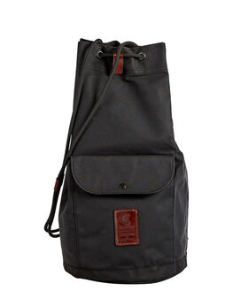 BLACK MENS ACCESSORIES HOMECAMP BAGS + BACKPACKS - HOM111BLK