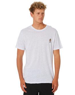 WHITE MENS CLOTHING RUSTY TEES - TTM2274WHT