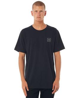 JET BLACK MENS CLOTHING OAKLEY TEES - 456815AU01K