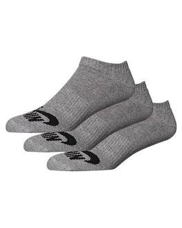 DARK GREY HEATHER MENS CLOTHING NIKE SOCKS + UNDERWEAR - SX4921004
