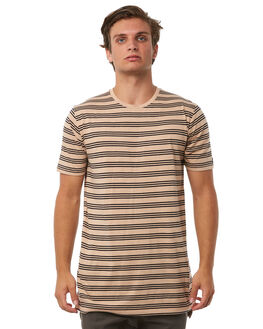 WHEAT MENS CLOTHING ZANEROBE TEES - 104-PREWHEAT