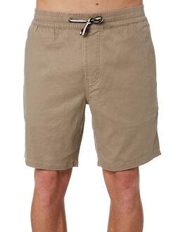CEMENT LINEN MENS CLOTHING BARNEY COOLS SHORTS - 602-CR3CEM