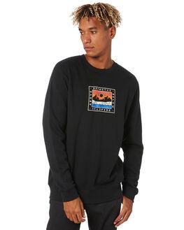 BLACK MENS CLOTHING DEPACTUS JUMPERS - D5203441BLACK