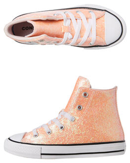 BARELY ROSE KIDS GIRLS CONVERSE SNEAKERS - 665977CBRSE