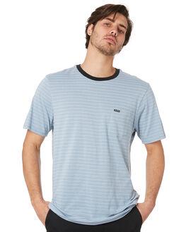 FLIGHT BLUE MENS CLOTHING VOLCOM TEES - A01118R0FLB